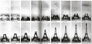Fases de la construcción de la torre Eiffel