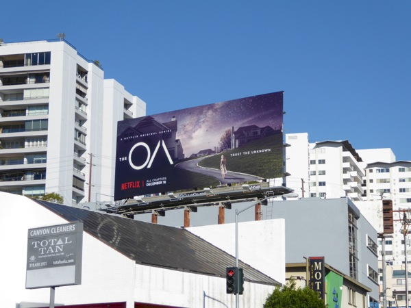 The OA series launch billboard