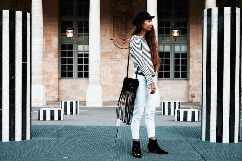 street style paris 2017 colonne buren blog mode arte marion trumier