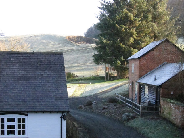 View from Orchard Cottage, next to the Kerry Ridgeway