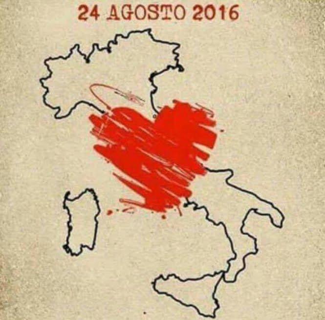 INGV ricorda l'anniversario del Terremoto di Amatrice
