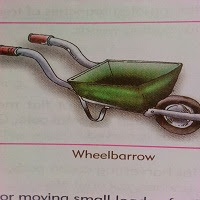 farm implement. wheelbarrow