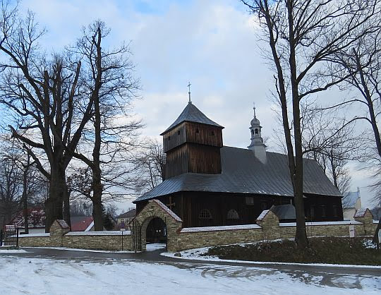 Kościół pw. świętych Apostołów Szymona i Judy Tadeusza w Dobrej.
