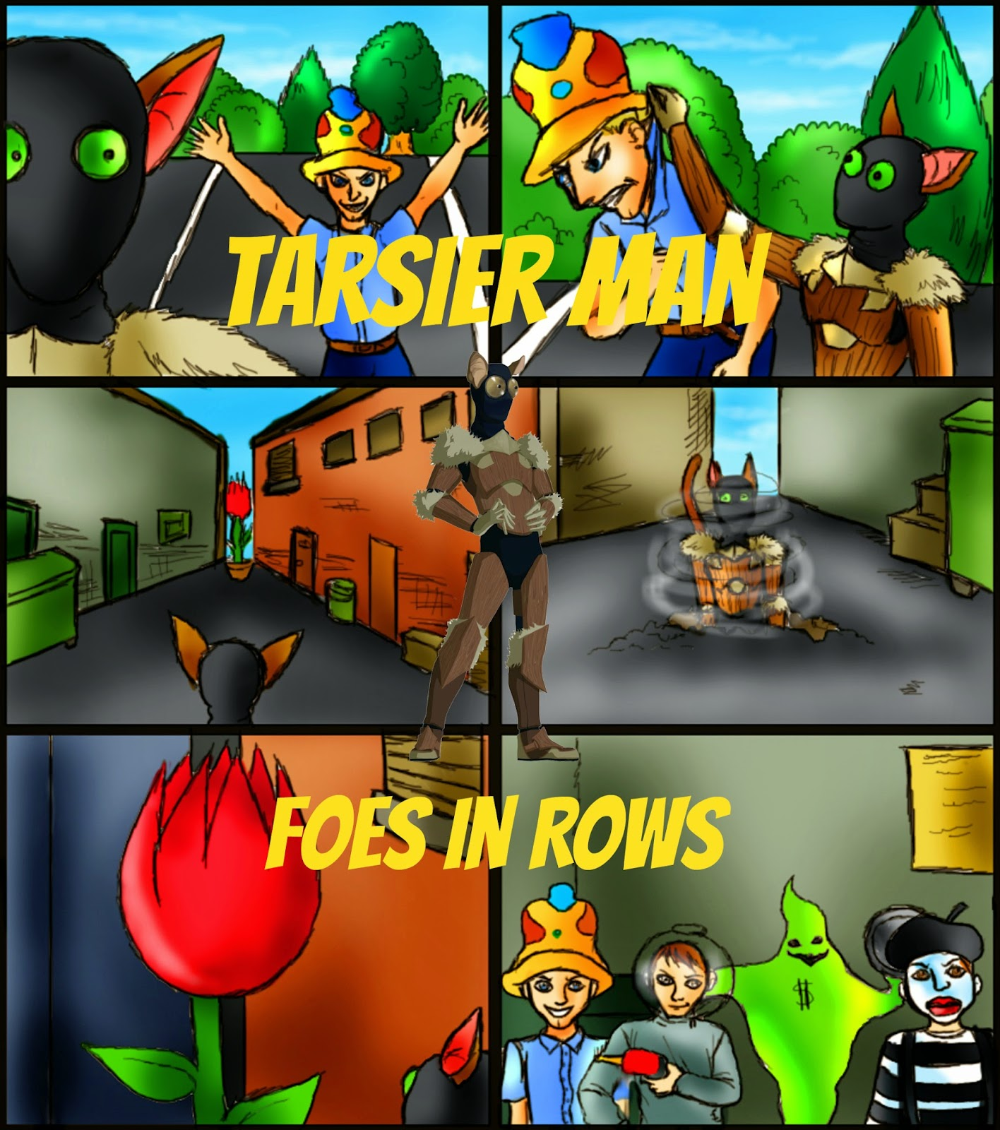 http://www.amazon.com/Tarsier-Man-Foes-Pat-Hatt-ebook/dp/B00UG8UCKY