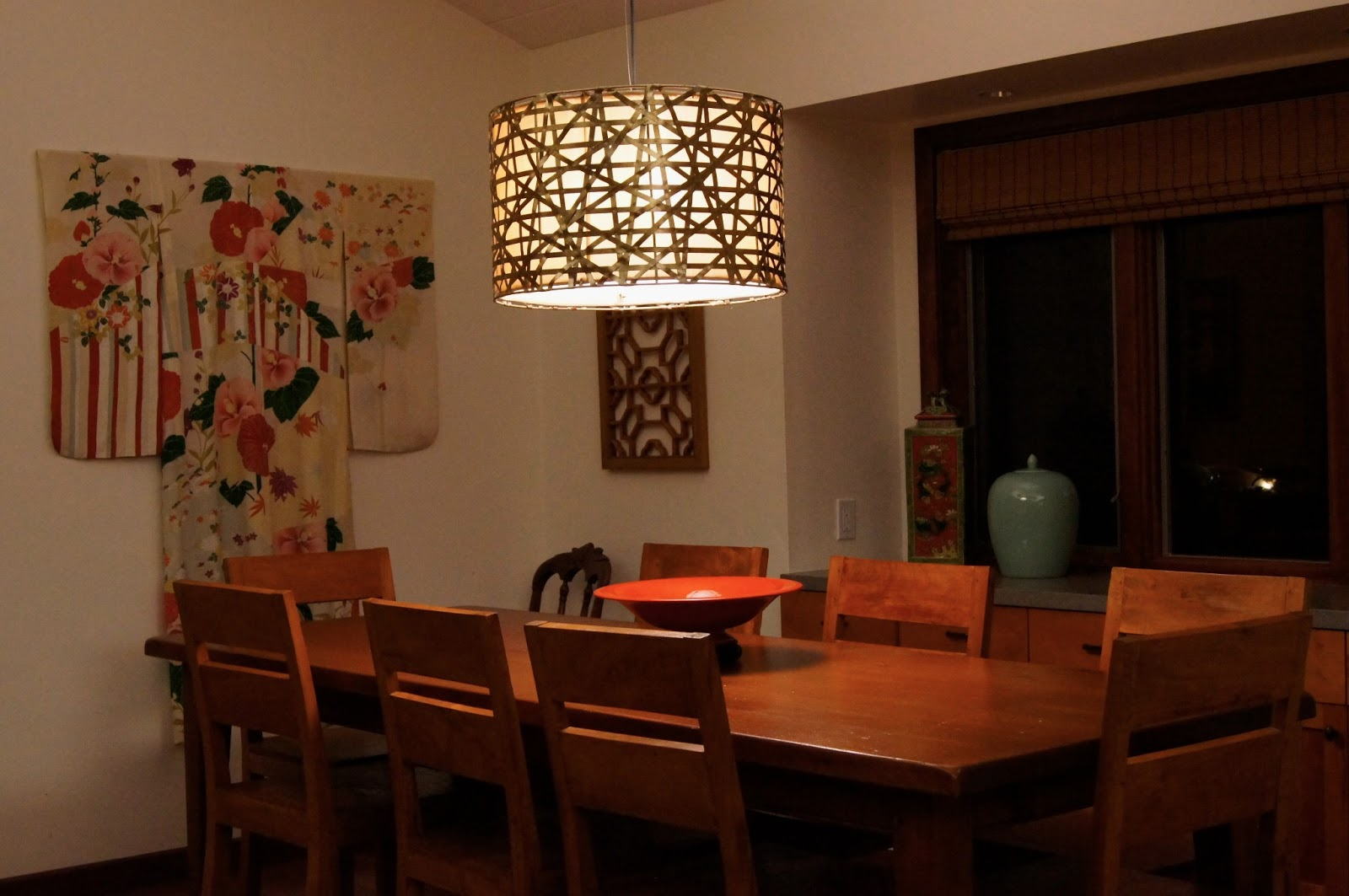 Price Style & Design: New Dining Room Light Fixture Installed!