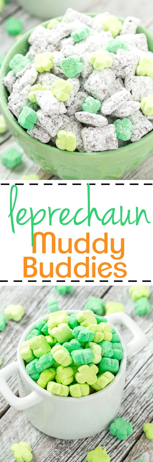 Leprechaun Muddy Buddies