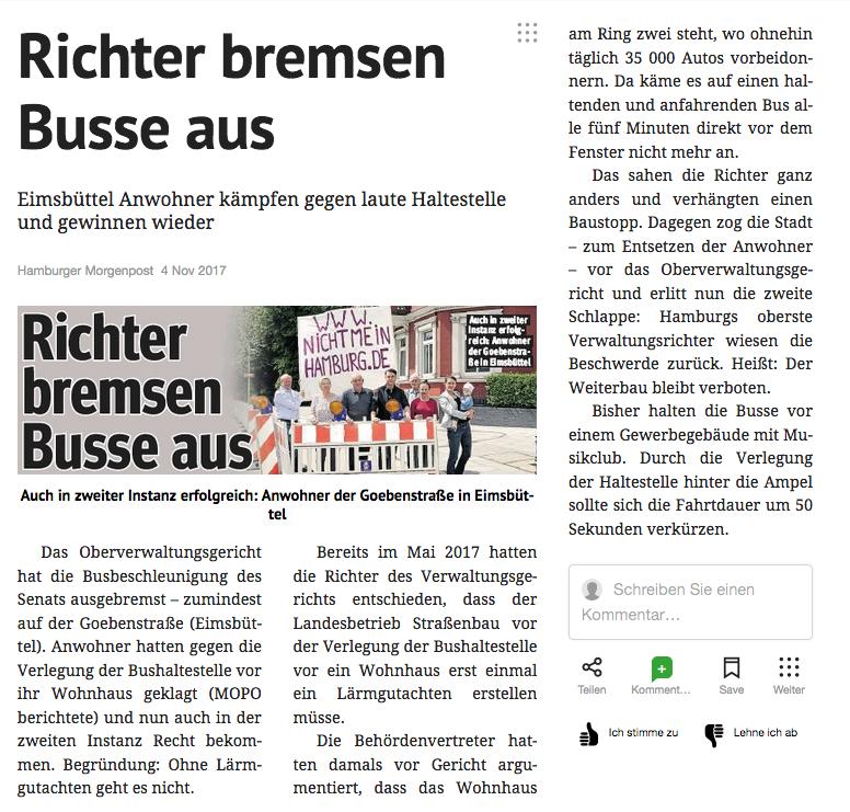 das gericht gibt uns recht!!! | #nichtmeinhamburg
