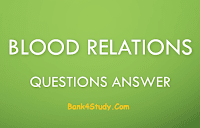 Blood Relationship Questions Answer IBPS & SBI
