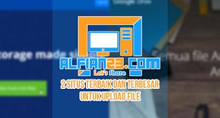 Cloud hosting untuk menyimpan file terbesar dan terbaik