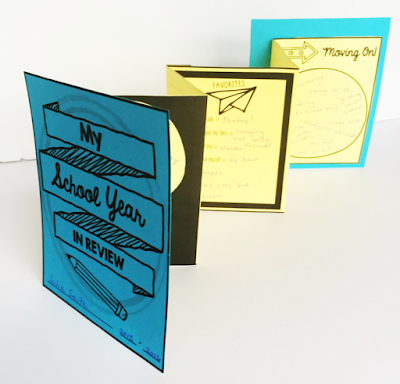 Looking for a hands-on and fun end-of-the-year activity? Well, look no further! This end of the year lesson will not only help students practice the critical skill of reflecting, they'll also create an interactive accordion book to showcase their thoughts and ideas.