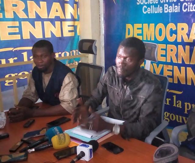 Sékou Koundono Président du Balai Citoyen