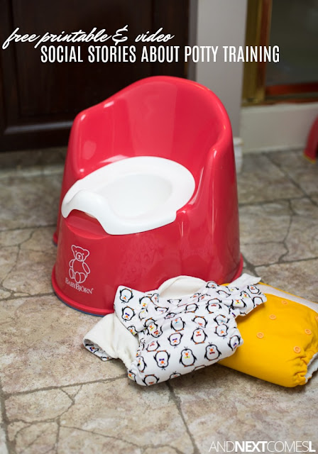 Free potty training social stories for kids