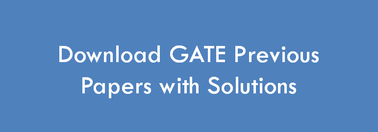Download GATE Papers