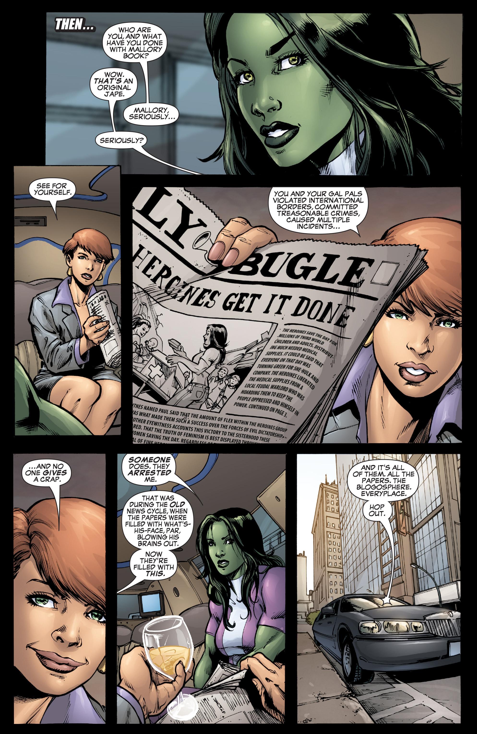 Read online She-Hulk (2005) comic -  Issue #37 - 16