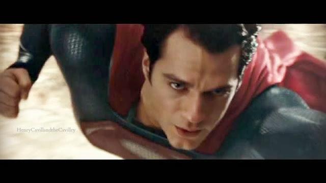 henry cavill is superman in warner bros man of steel