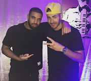 Rihanna's two love interests - Drake and Benzema meet (photo)