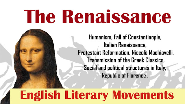 the renaissance, my exam solution, English Literature, UGC NET JRF, literature, Arpitakarwa