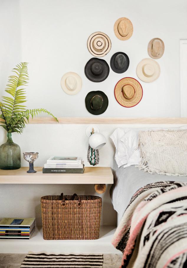 5 ideas para decorar una pared usando sombreros  545d1e7a34a