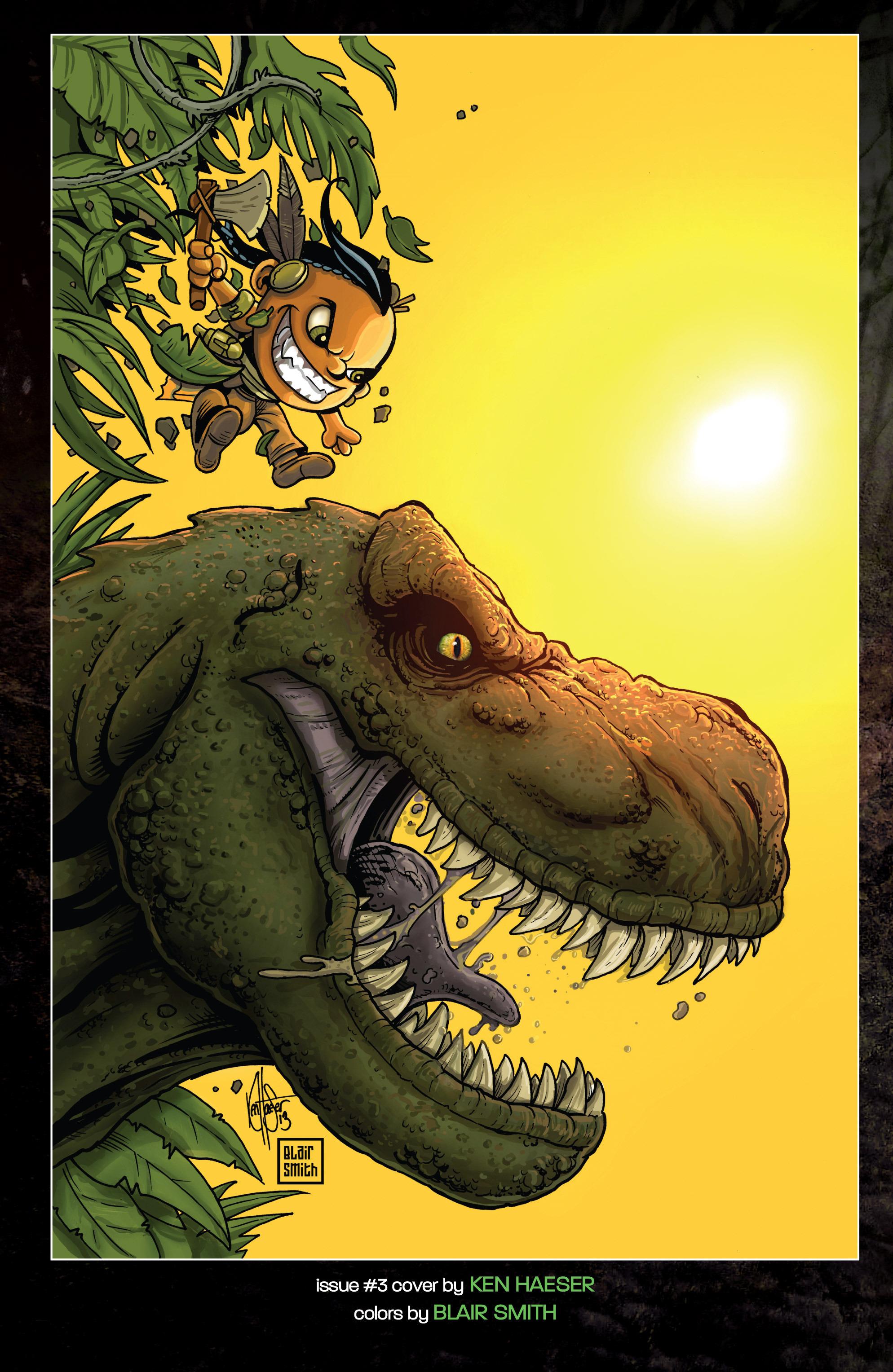 Read online Turok: Dinosaur Hunter (2014) comic -  Issue # _TPB 1 - 143