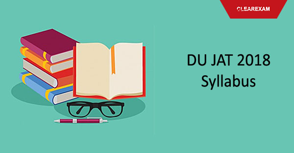 DU JAT Entrance Exam Syllabus