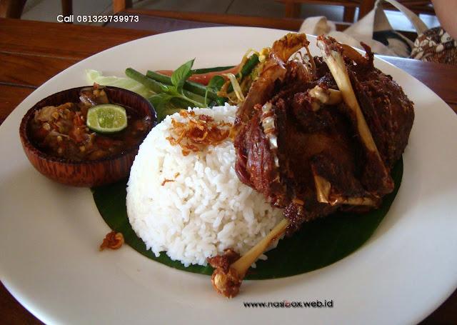 Resep nasi bebek madura nasi box walini ciwidey