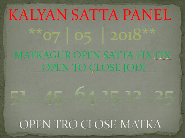 Best Open King: kalyan satta fix fix tricks guessing open to close