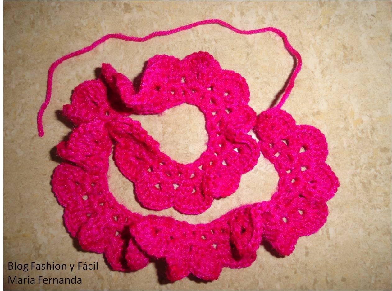 Fashion y Fcil DIY Cmo hacer una moera Rosa tejida en espiral aplicada a una moera How to