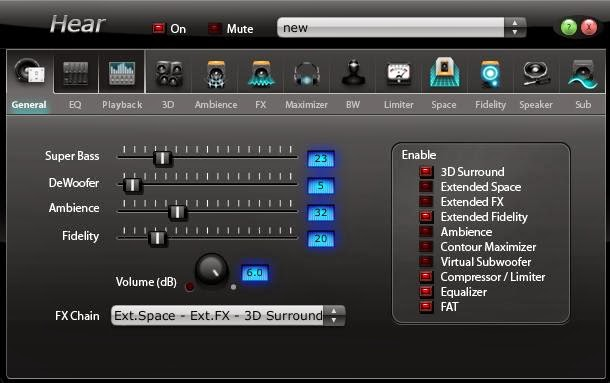 Hear, Software Amplifier Untuk PC/Laptop