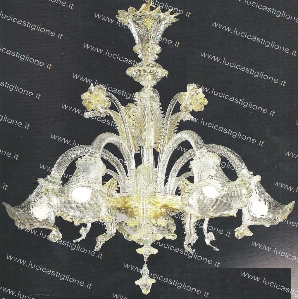 Lampadari in vetro di murano -> Lampadario Cucina Vetro Murano