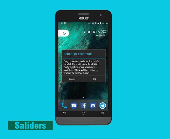 Cara mudah keluar dari safe mode pada android