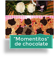 """""""MOMENTITOS"""" DE CHOCOLATE"""