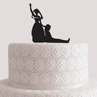 Kontur na tort ślubny - pomysł na prezent dla Panny Młodej