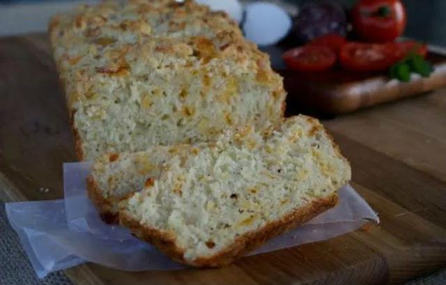 Пикантный хлеб с сыром и перцем