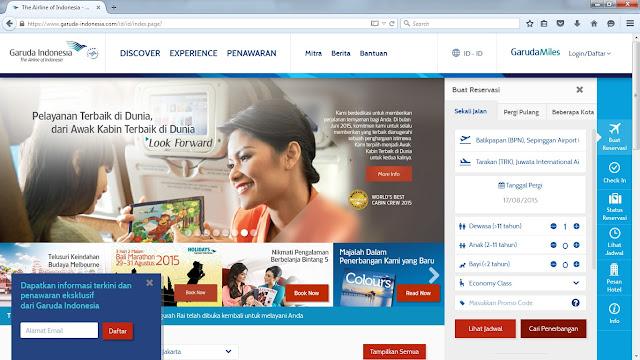 Panduan Lengkap Reservasi Tiket Garuda Indonesia Secara Online