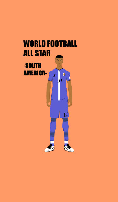 WORLD FOOTBALL ALL STAR -SOUTH AMERICA-