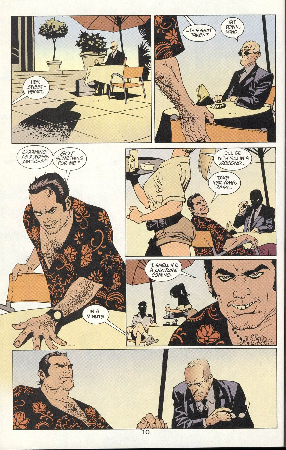 Read online 100 Bullets comic -  Issue #8 - 11