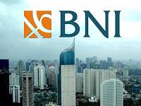 PT Bank Negara Indonesia (Persero) Tbk - Recruitment For Internal Control, IT Developer BNI February 2017