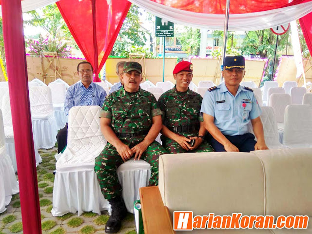 Perwira Seksi Logistik Hadiri Grand Opening Rumah Sakit Gigi dan Mulut Sulastri UMS