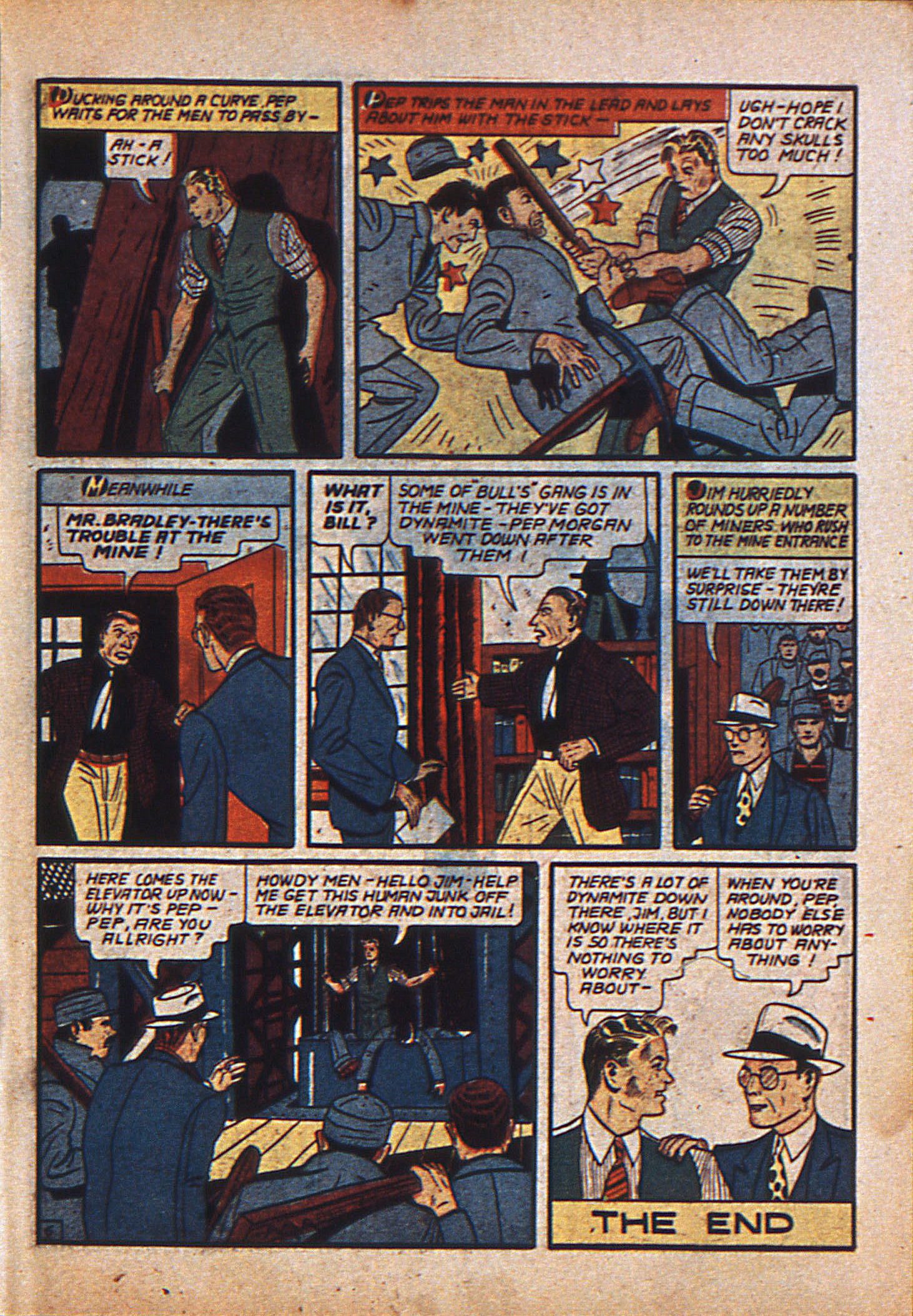 Read online Action Comics (1938) comic -  Issue #23 - 24