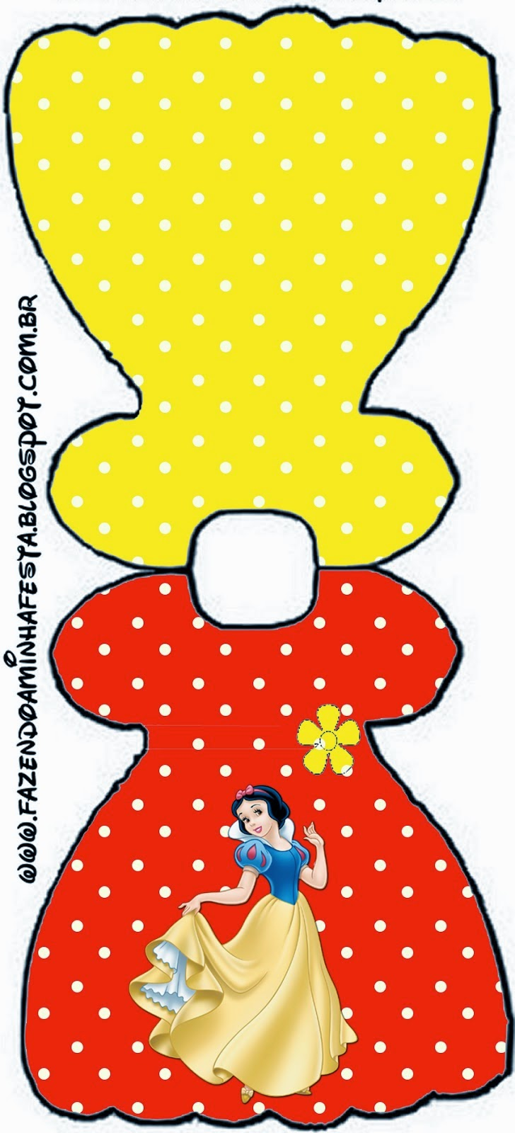 Snow White: Free Printable Invitations, Labels or Cards.   Oh My ...