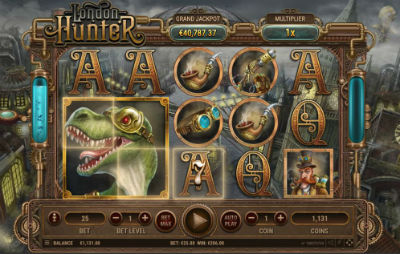 Joaca acum London Hunter Slot Online