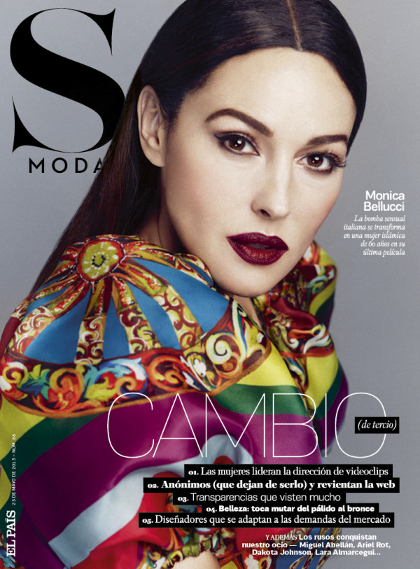 Smartologie: Monica Bellucci For S Moda Magazine May 2013