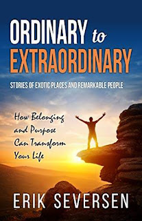 Ordinary to Extraordinary - a collection of riveting narratives discount book promotion Erik Seversen