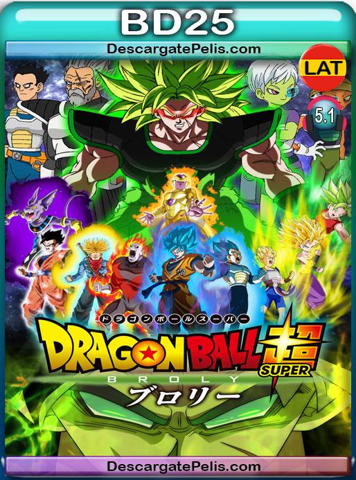 Dragon Ball Super Broly (2018) BD25 1080p Latino – Japones – Ingles