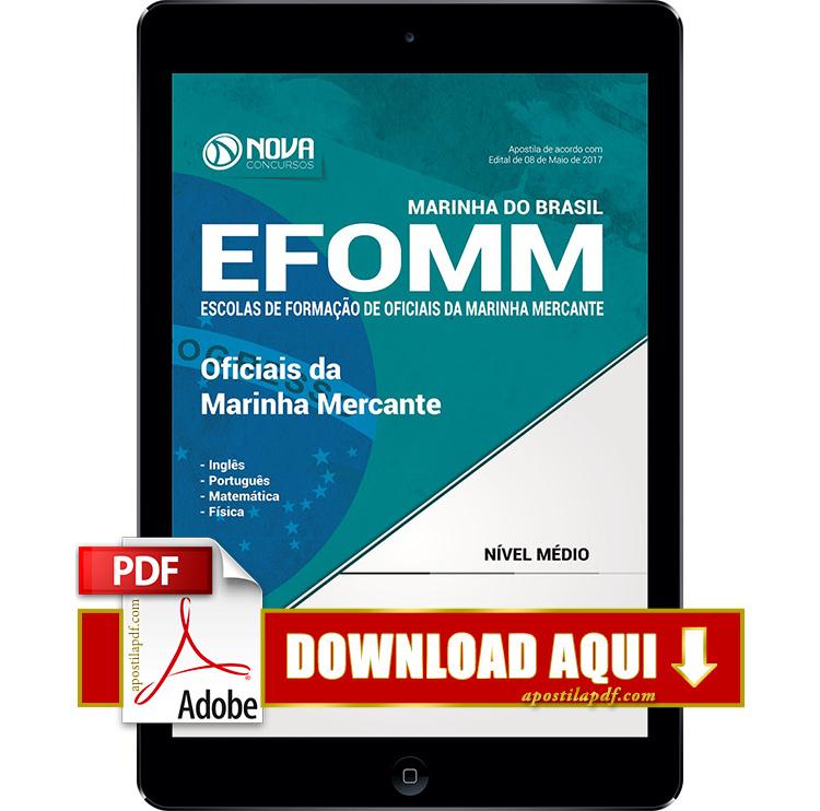 Apostila EFOMM 2017 PDF Download Digital Oficiais da Marinha Mercante