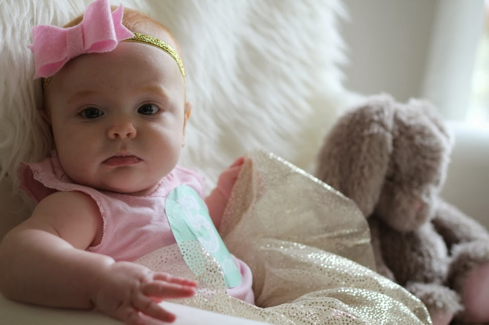 ea064986177d We made the transition to her crib during the dreaded four month sleep  regression (which for us, actually started right at 3.5 months and is still  somewhat ...