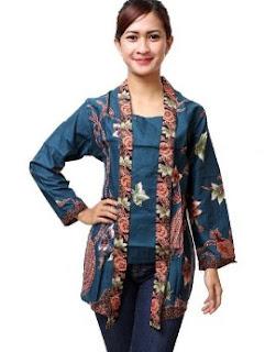 Model kebaya remaja putri muslim lengan panjang