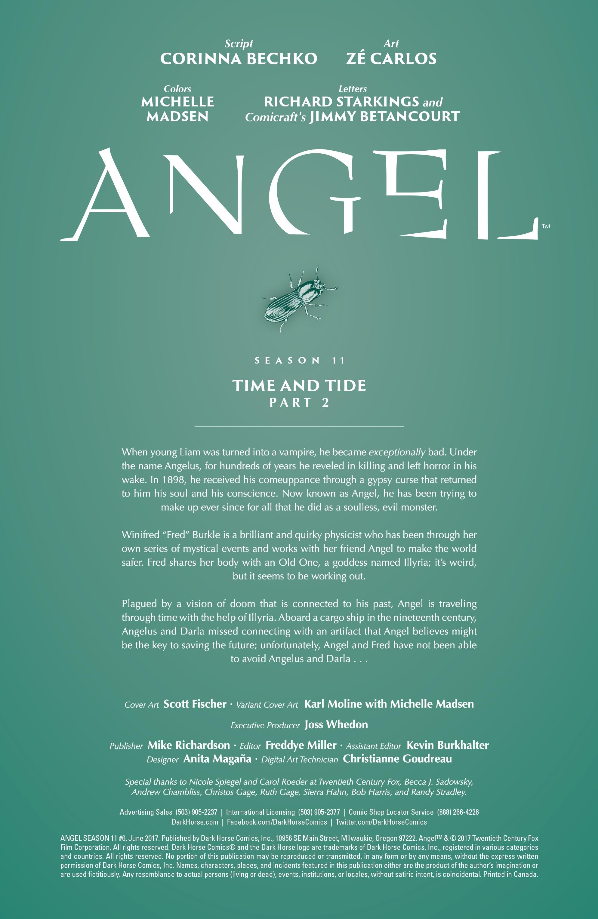 Read online Angel Season 11 comic -  Issue #6 - 3