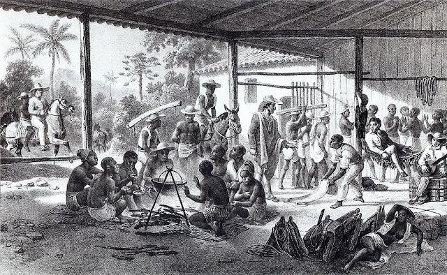 El comercio de esclavos africanos en america