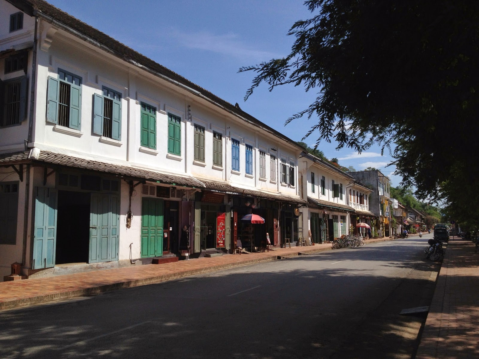 Luang Prabang - French influenced buildings